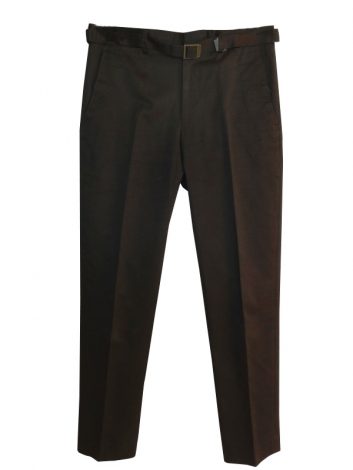 Pantalon slim YVES SAINT LAURENT Noir