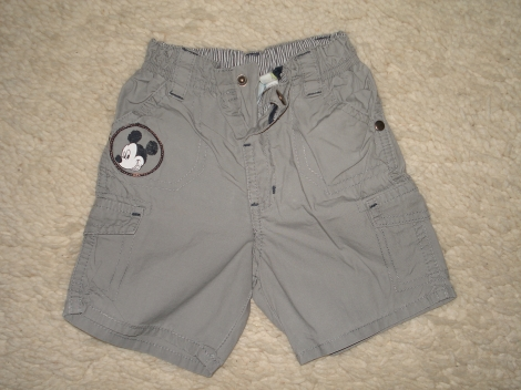 Shorts DISNEY Grau, anthrazit