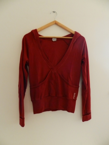 Ensemble jogging DEHA Rouge, bordeaux