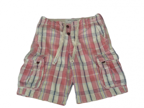 Shorts ABERCROMBIE & FITCH Rot, bordeauxrot