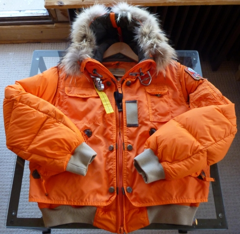Parajumpers Pre-owned - Leather puffer
