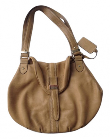 Borsa XL in pelle LANCEL Beige, cammello
