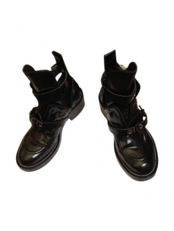 Bottines & low boots motards BALENCIAGA Noir