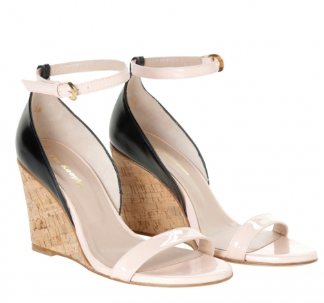 Plateausandalette THE KOOPLES Pink,  altrosa