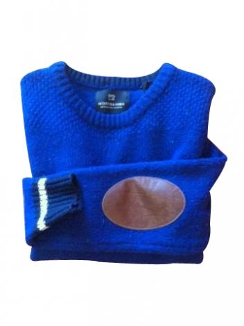 Pullover SCOTCH & SODA Blau, marineblau, türkisblau