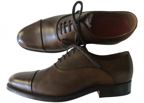 Calzature stringate GRENSON Marrone