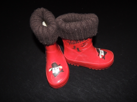 Gummistiefel ORCHESTRA Rot, bordeauxrot