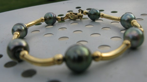Armband HISTOIRE D'OR Grau, anthrazit