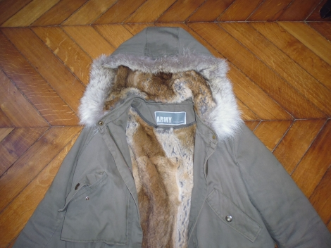 Parka army yves salomon occasion