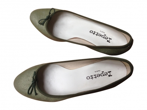 Ballerinas REPETTO Grün