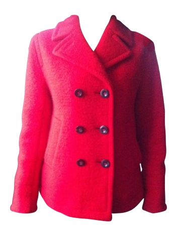 Cabanjacke MARC BY MARC JACOBS Rot, bordeauxrot
