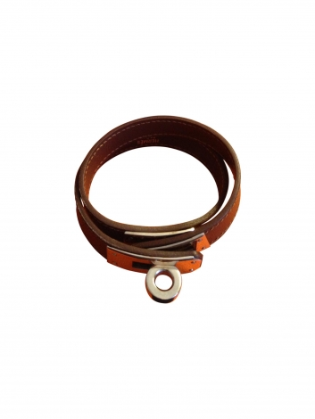 Armband HERMÈS Kelly Double Tour Braun