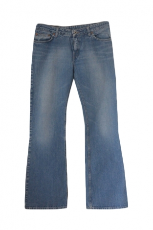 Boot-Cut Jeans REPLAY Blau, marineblau, türkisblau