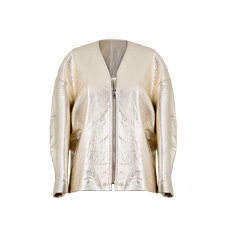 Zipped Jacket ISABEL MARANT Golden, bronze, copper
