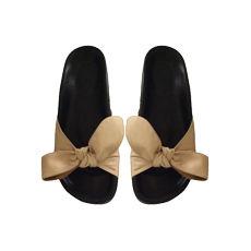 Sandales plates  CHLOÉ Beige, camel