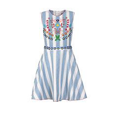 Mini Dress MANOUSH White, off-white, ecru