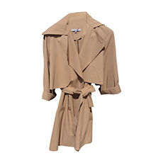 Imperméable, trench CARVEN Beige, camel