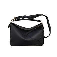 Leather Shoulder Bag LOEWE Blue, navy, turquoise