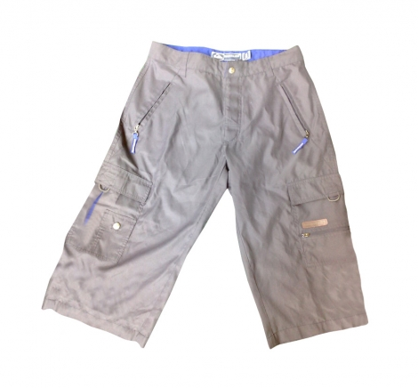 Cropped Pants QUIKSILVER Gray, charcoal