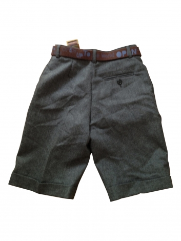 Bermuda Shorts BONPOINT Gray, charcoal