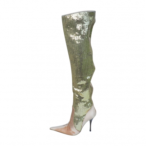 thigh high boots gianmarco lorenzi 36 golden 4428647