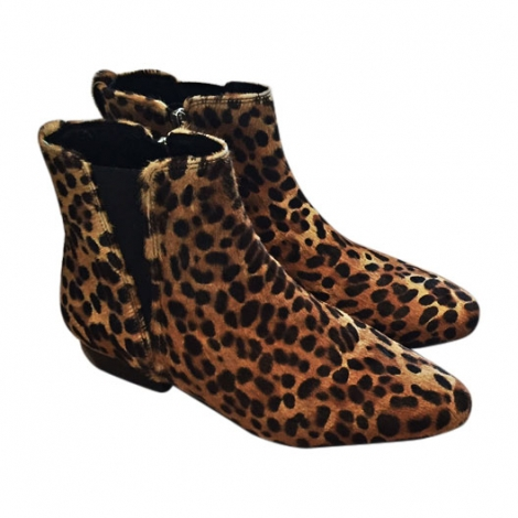 bottines low boots talons isabel marant 36 leopard vendu par elo2667191 4468580. Black Bedroom Furniture Sets. Home Design Ideas