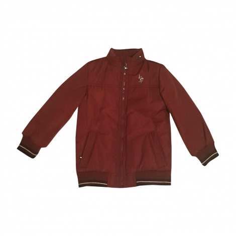 Zipped Jacket RALPH LAUREN Red, burgundy