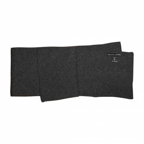 Scarf RALPH LAUREN Gray, charcoal