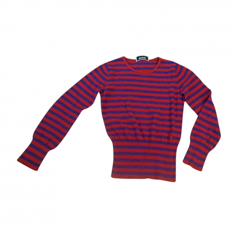 Sweater SONIA RYKIEL rayé rouge et violet