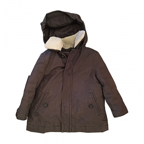 Parka BONPOINT Gray, charcoal