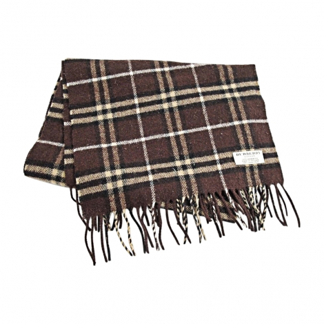 Scarf BURBERRY Brown